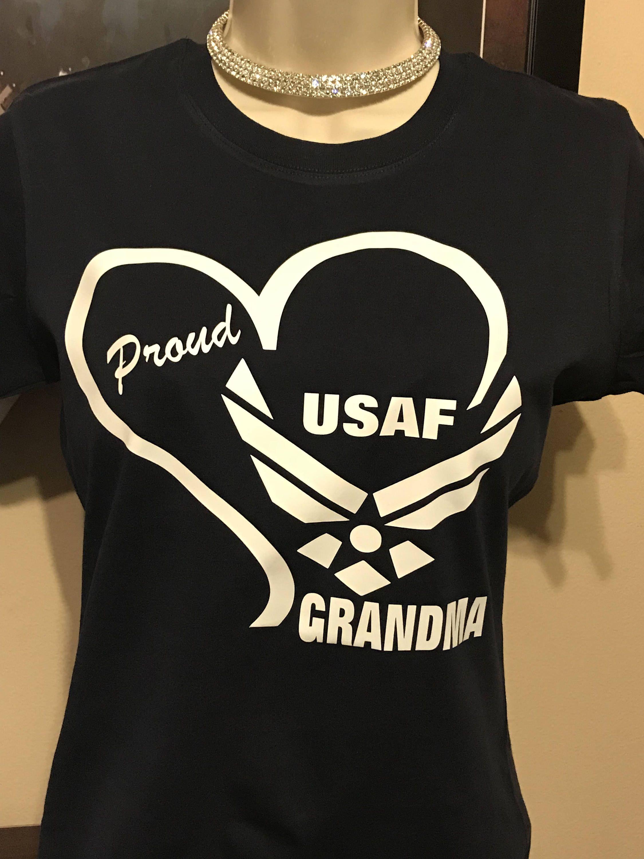 Military Grandma Air Force TShirt by EnviuDesigns on Etsy