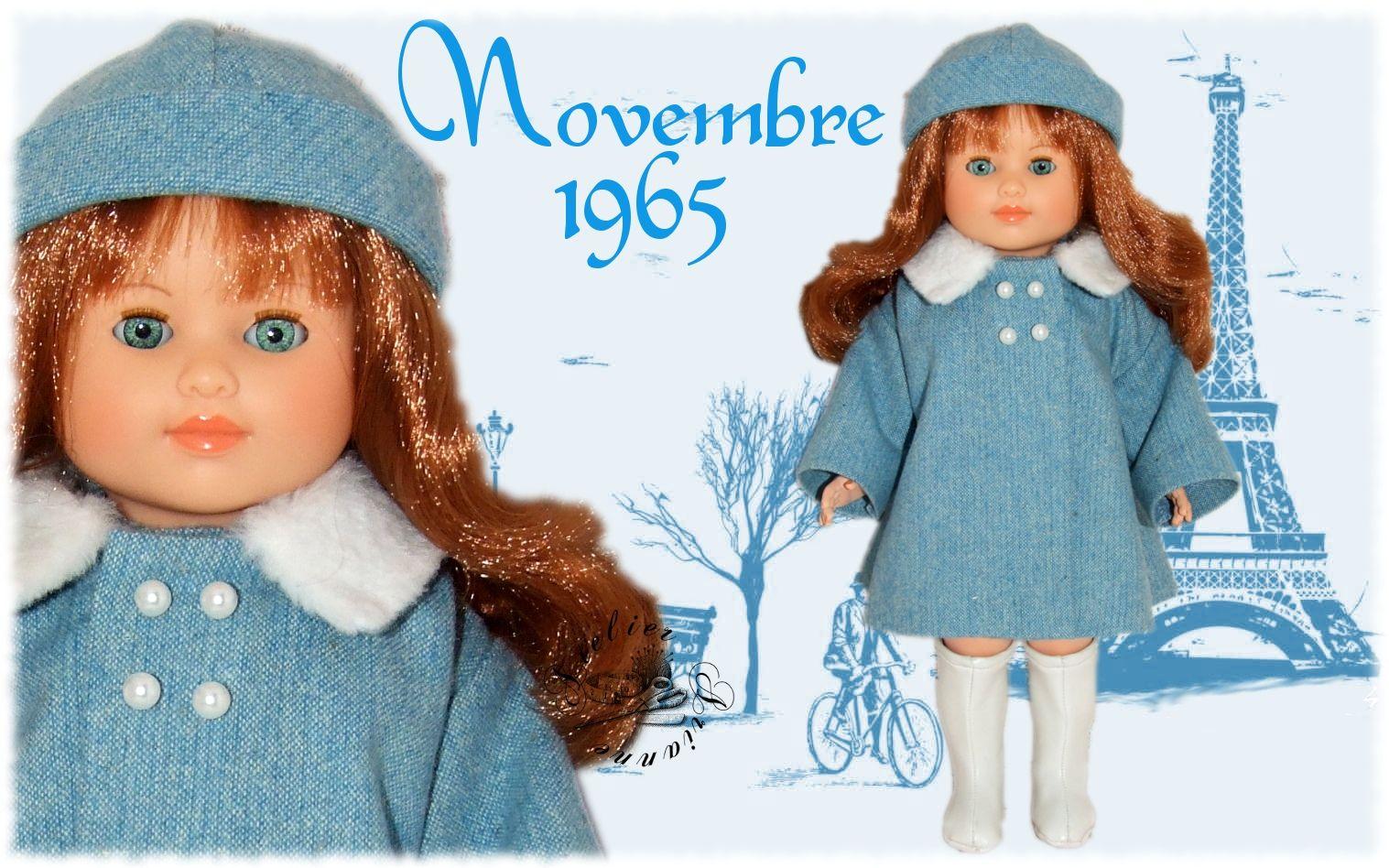 Tenue Novembre 1965 Pour Poup U00e9e Marie