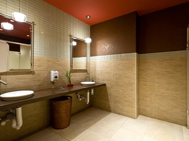 Commercial Bathroom Design Amusing Commercial Restroom  Michael Menn Ltdarchitectureconstruction Review