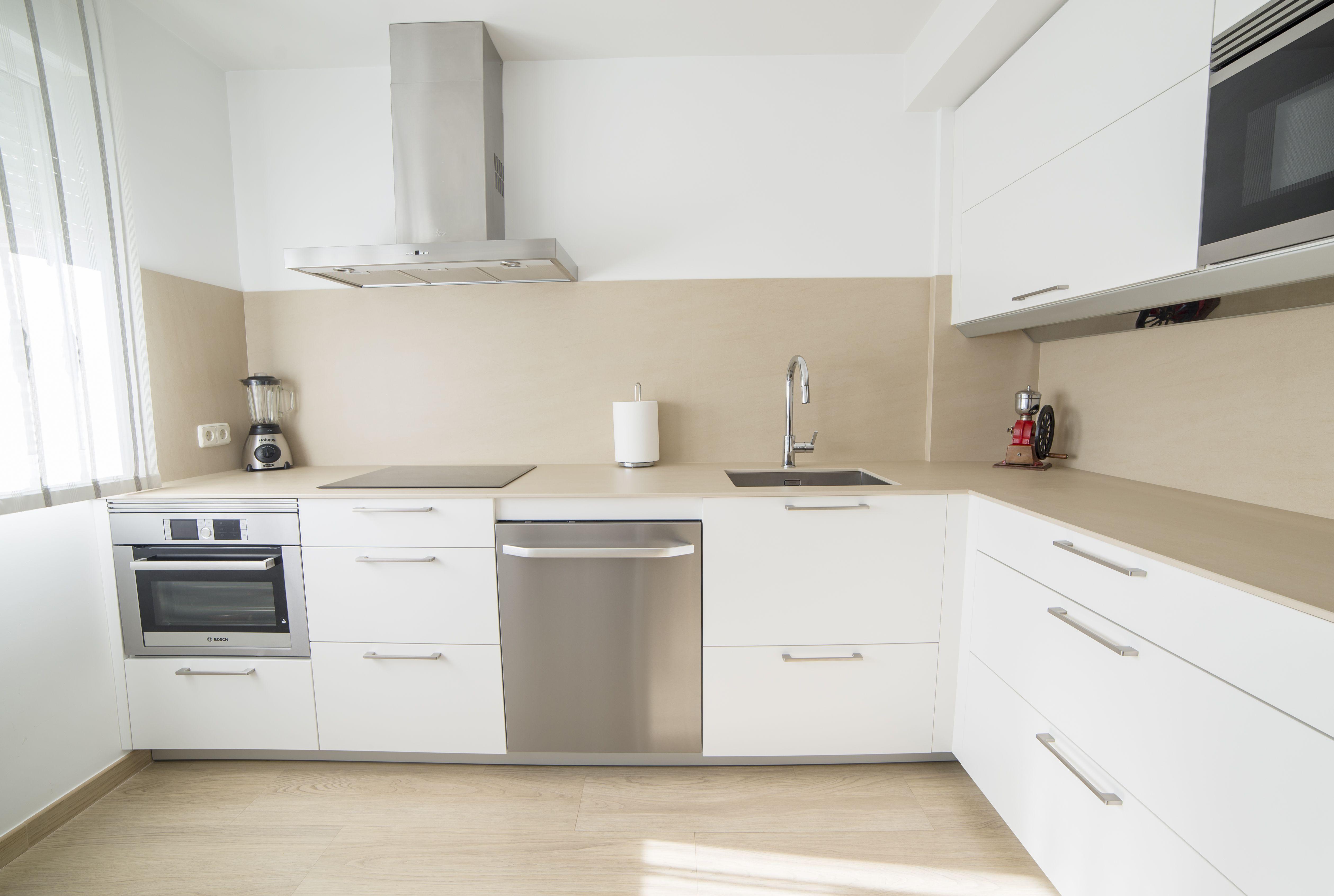 Cocina Santos Por Estudio Santos Rivas Modelo Ariane  ~ Limpiar Muebles De Cocina De Formica Mate