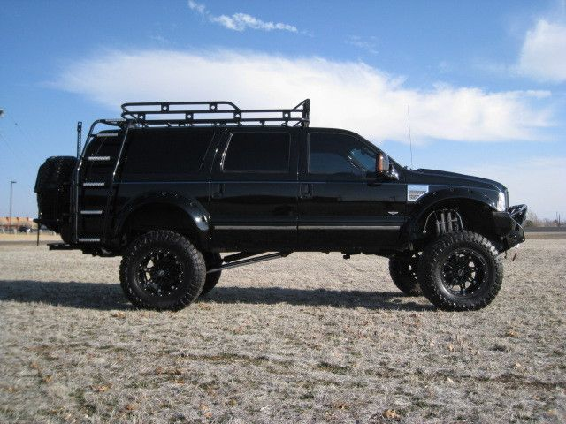Pics Of Really Cool Roof Racks Ford Truck Enthusiasts Forums Ford Excursion Bug Out Vehicle Vehicles