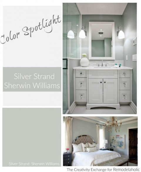 Attractive Silver Strand From Sherwin Williams. Fantastic Gray For Poorly Lighted  Spaces. Color Spotlight On