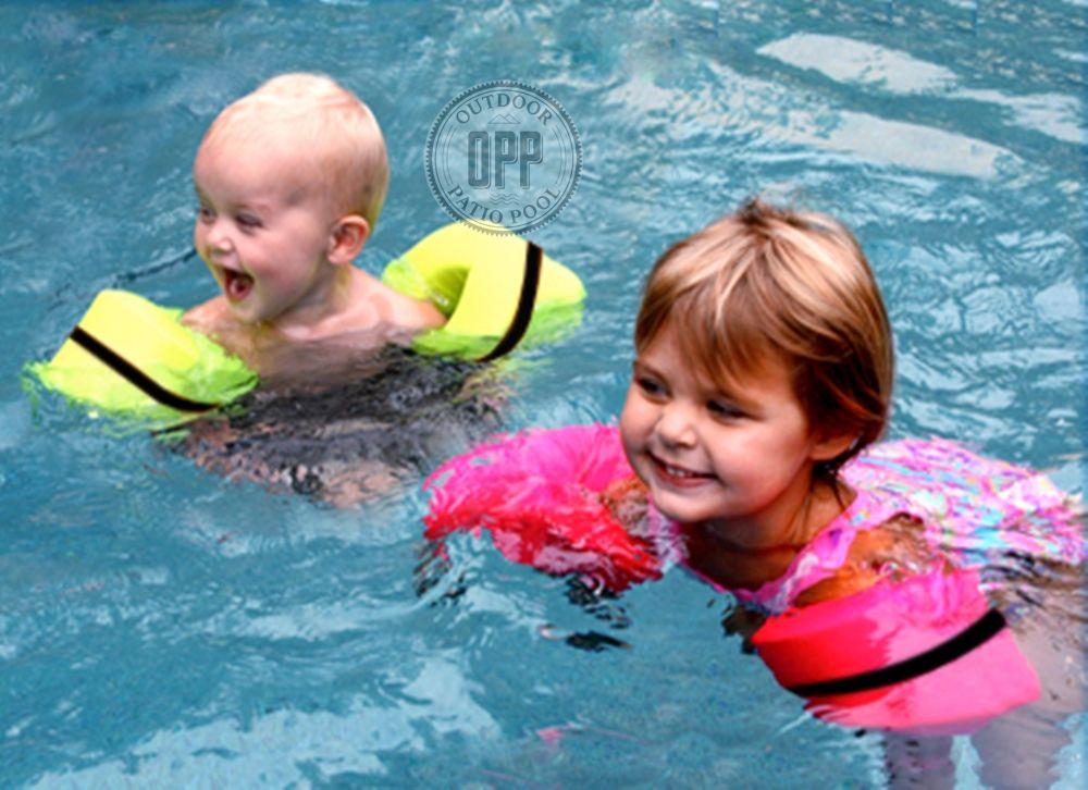 Foamy Floatie Arm Bands No More Blowing Up Arm Bands Hot Pink Floaties Kids Floaties Toddler Floaties