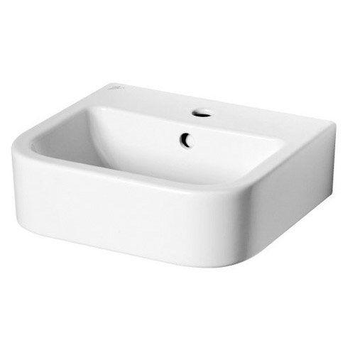 lavabo ideal standard seventies, blanc en porcelaine, l. 40 x l