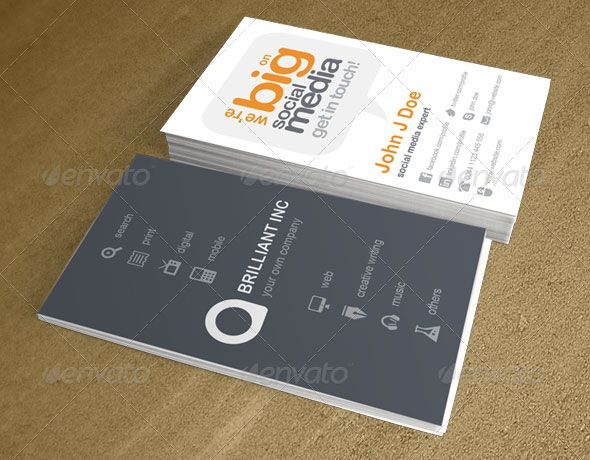 20 creative business card templates that help you stand out from who said that all business cards have to be the same here is a collection reheart Choice Image