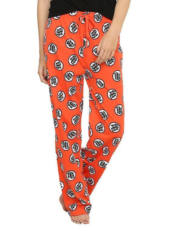 Dragon Ball Z Kame Symbol Print Guys Pajama Pants 525ec6c04