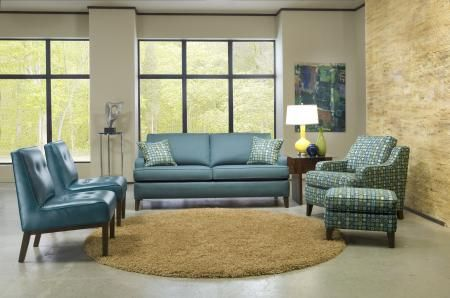 Shop For Smith Brothers Two Cushion Sofa, And Other Living Room Sofas At  Habegger Furniture Inc In Berne, IN. Comfort Wrinkles Are Designed To  Appear In ...