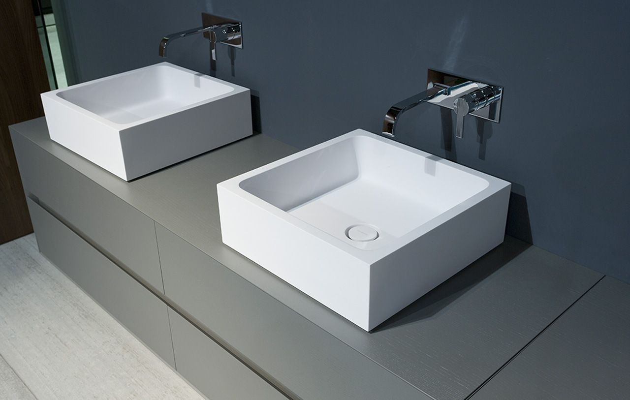Bagno Mobili E Accessori.Lavabi Blokko2 Antonio Lupi Arredamento E Accessori Da