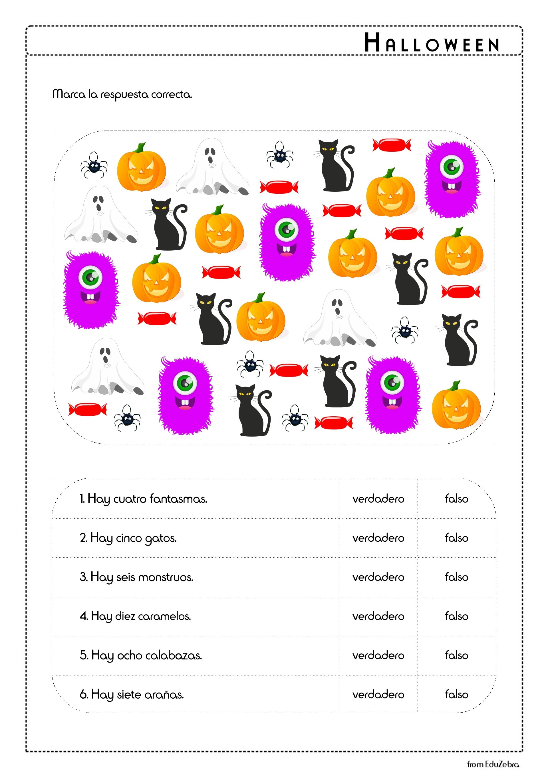 Halloween Vocabulary In Spanish