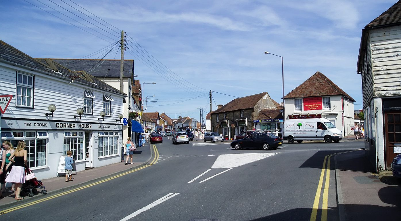 Dymchurch Kent Street Main Street England