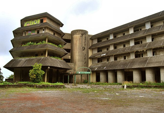 Abandoned Hotel In The Azores Portugal The Monte Palace