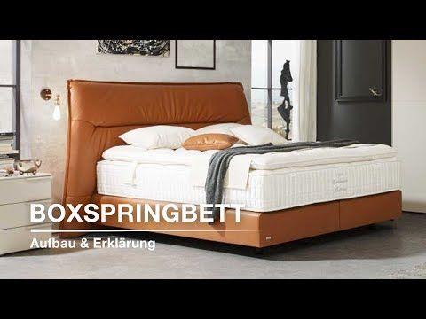 Boxspringbett Aufbau Und Erklarung Xxxlutz Boxspringbetten