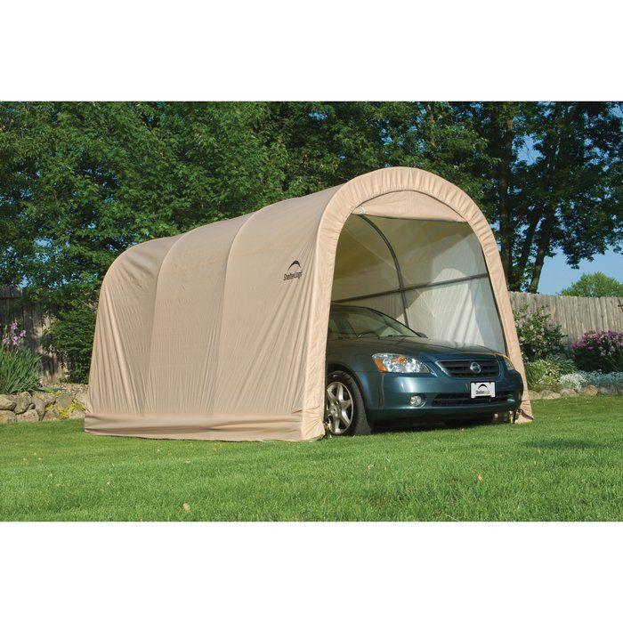 Garage | Portable garage, Diy roofing, Cool roof
