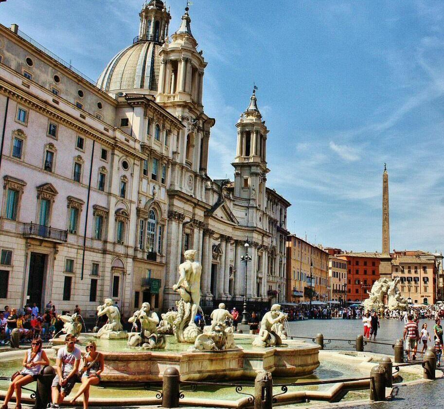 Plaza Navona En Roma Coliseo De Roma Viaje A Europa