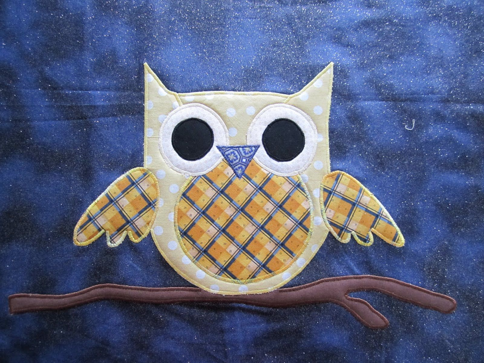 Free applique patterns and full instructions for baby