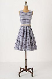 Anthropologie.  Simple but amazing.  I love, love, love the skirt.