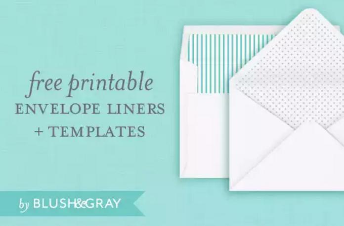 Free Printable A Envelope Templates  Templates