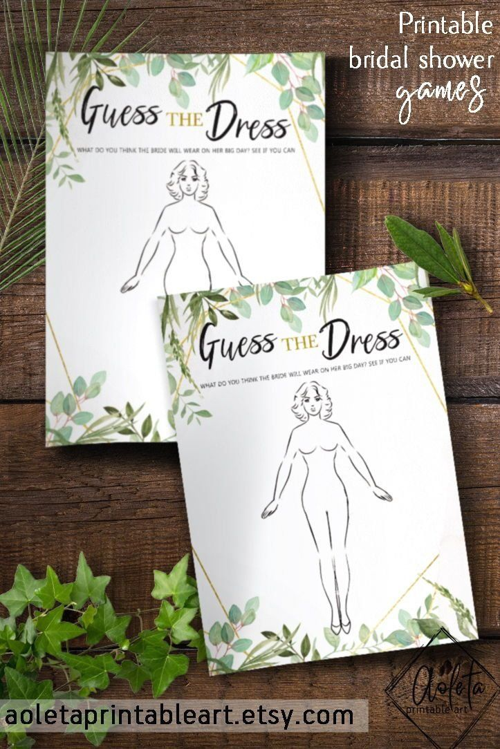 Items similar to Wedding Dress Games, Guess The Dress