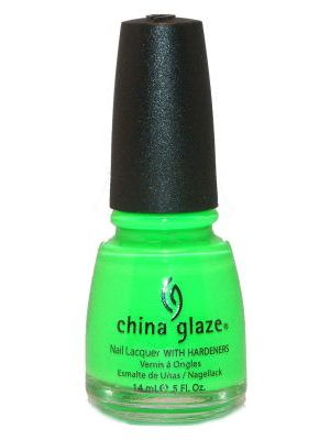 China Glaze Kiwi Cool-Ada good marbling color