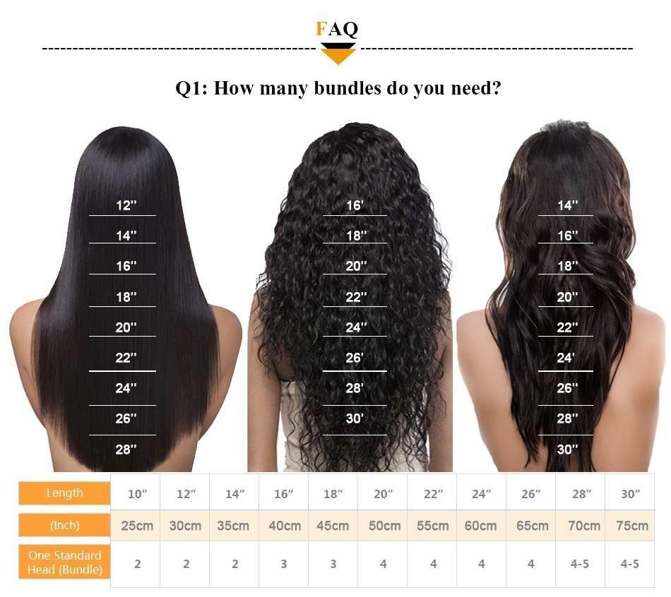 Indian Hair Bundles Body Wave 8 28 Human Hair Extensions Non Remy Items Per Pa Hair Bundles Hair Inches Hair Length Chart