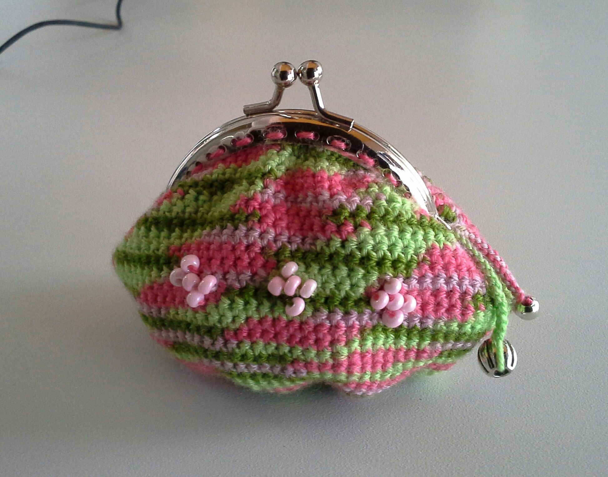 Monedero Para Celia Monederos Ganchillo Crochet Purses Pinterest - Monederos-ganchillo