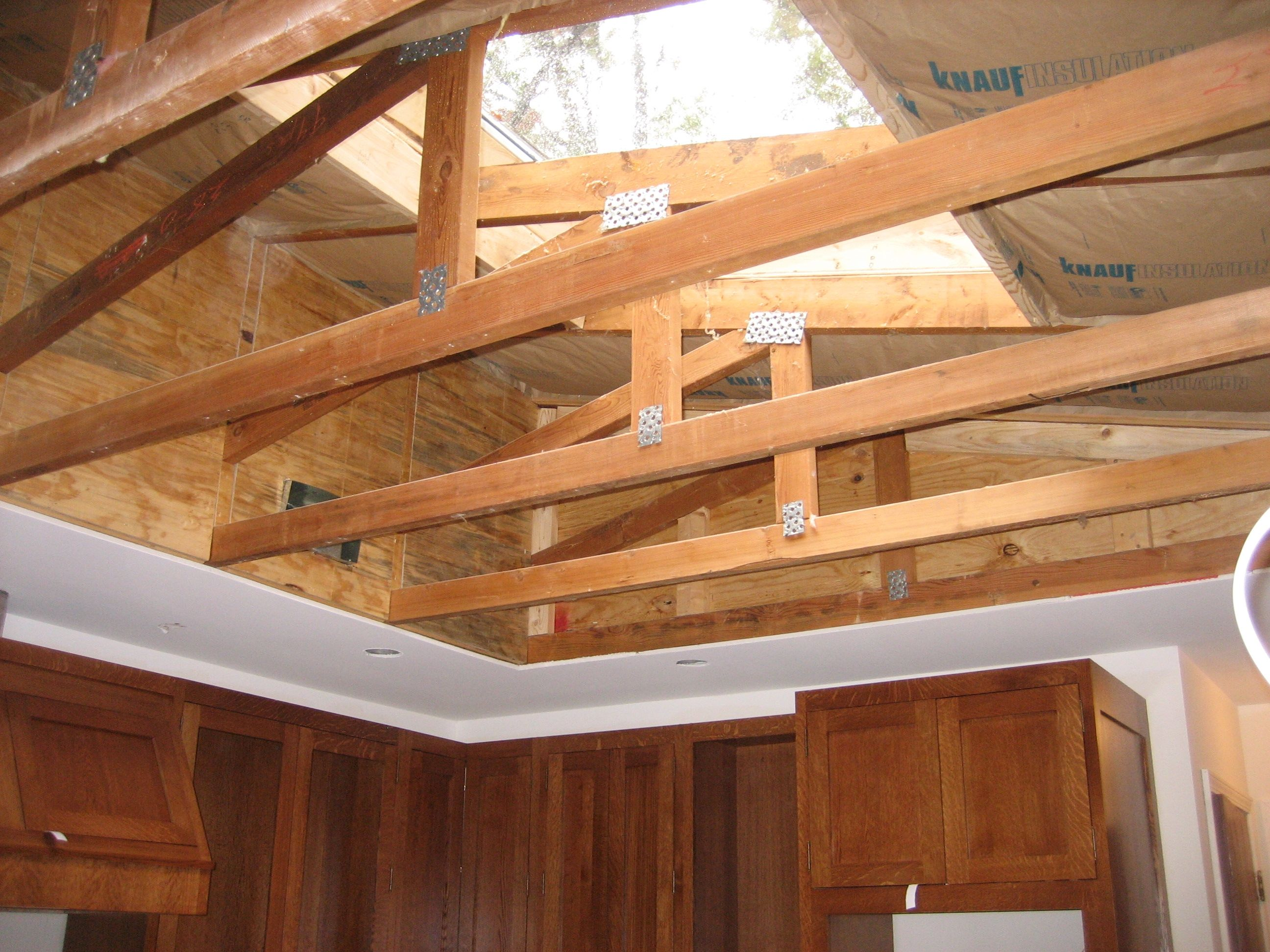 Image Result For Skylight Exposed Truss