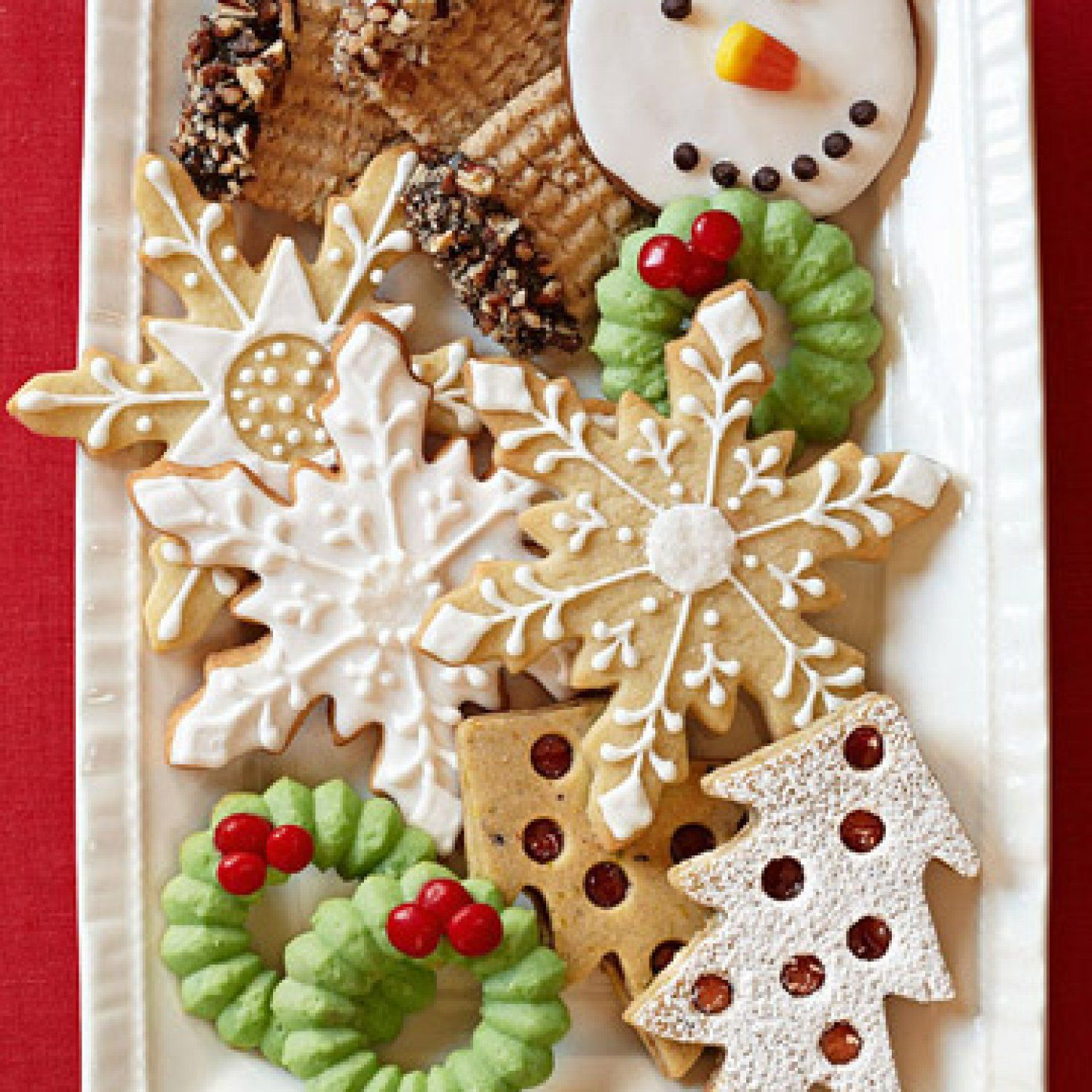 Cover recipes best holiday cookies xmas cookies