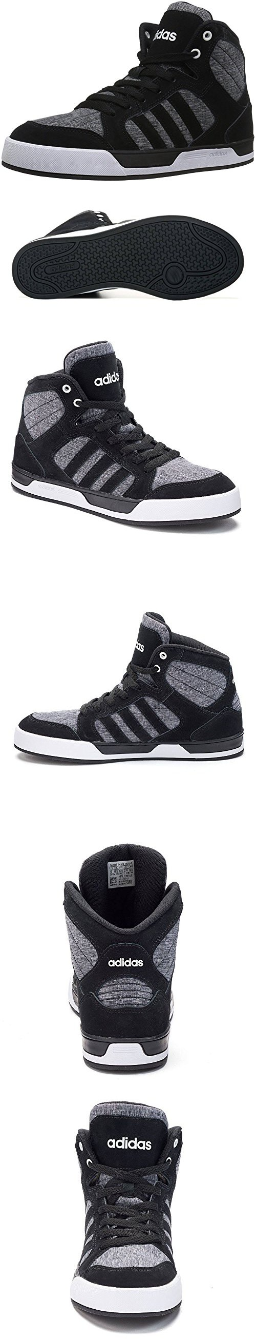 Adidas NEO Men's Raleigh Mid Lace Up Shoe (10 D(M) US, Grey