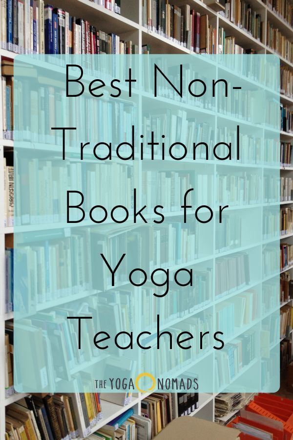 Best Non-Traditional Books for Yoga Teachers - The Yoga Nomads
