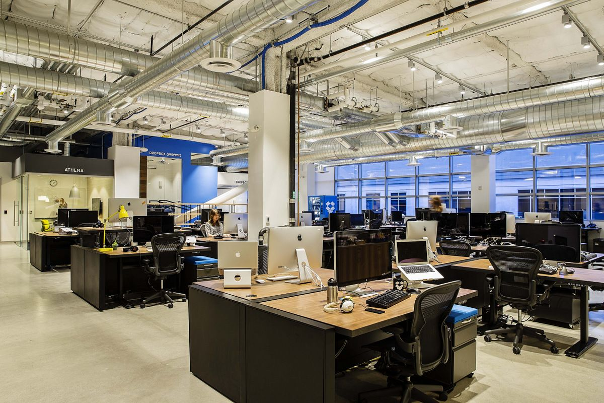 Office Tour Dropboxs Headquarters Expansion San Francisco