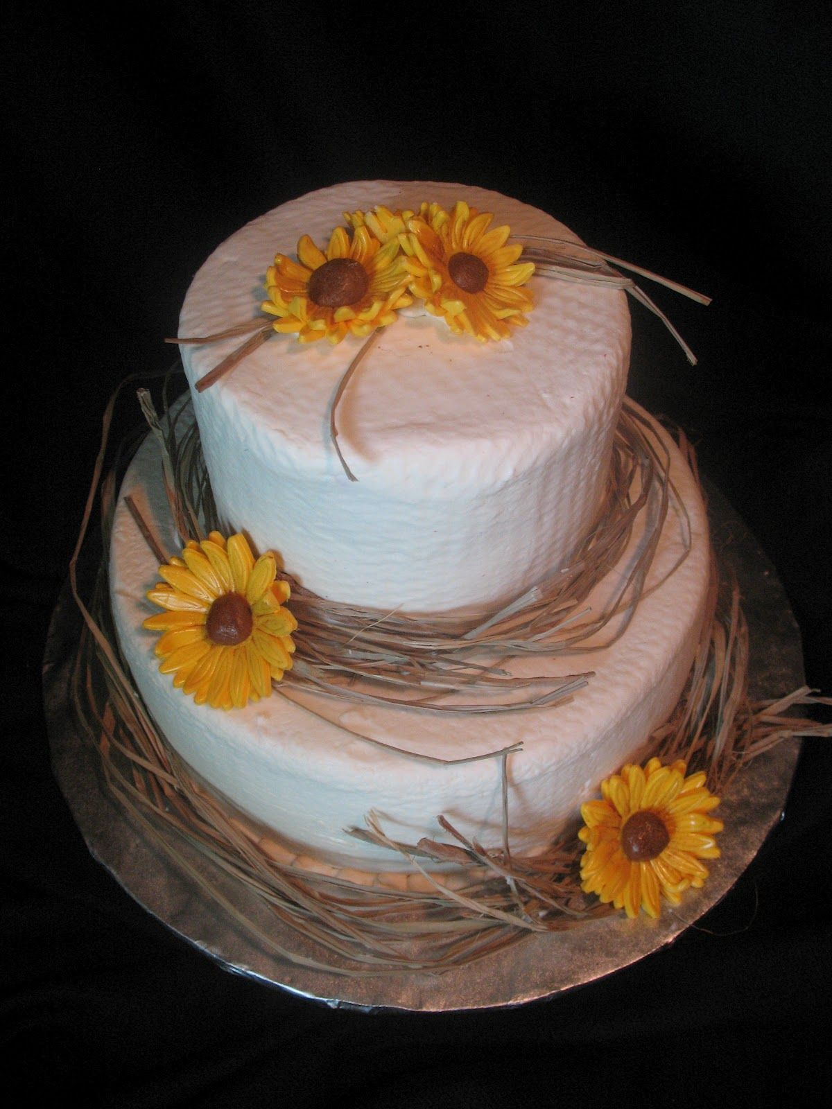 country wedding cakes country bridal shower cake
