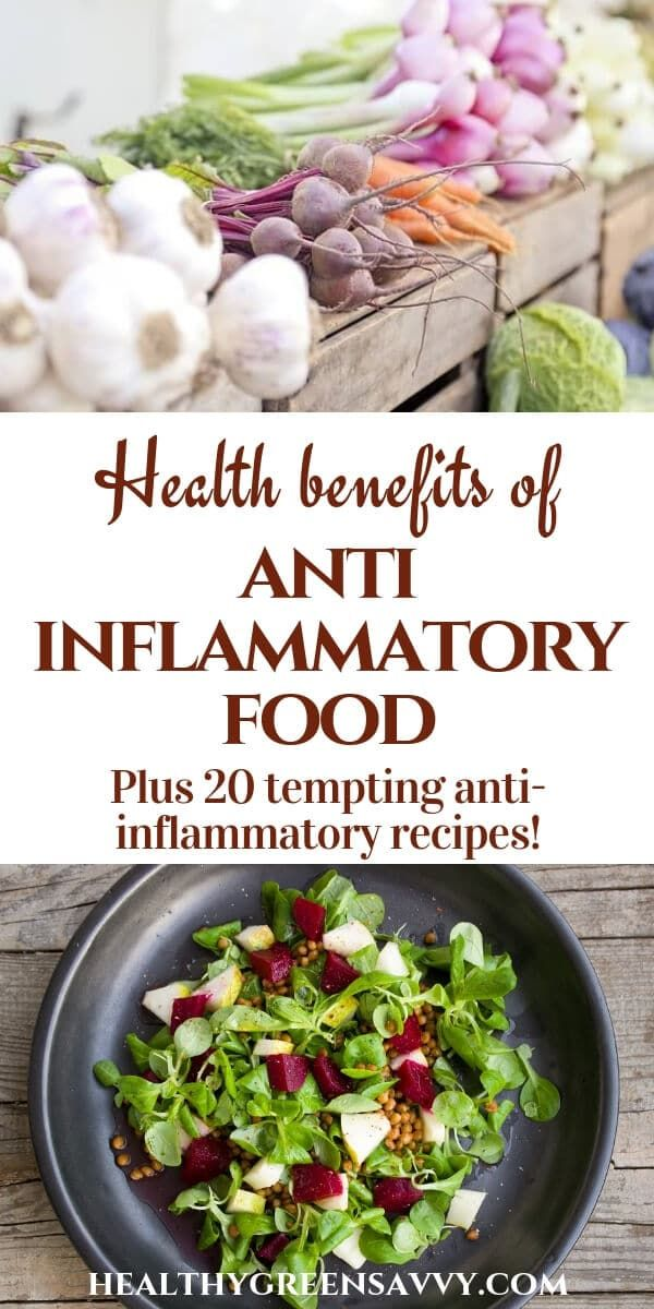 AntiInflammatory Food ~ Your Best Defense Against Disease is part of Inflammatory foods - Antiinflammatory food protects against disease and helps you look and feel better  Try these 20 delicious recipes featuring antiinflammatory food!