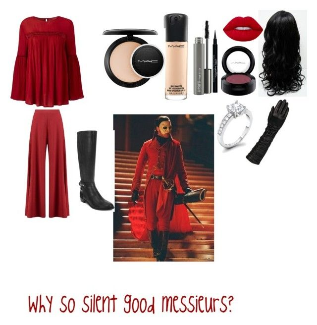 """""""Why so silent"""" by girlmeetsmusic on Polyvore featuring Boohoo, Elie Tahari, Lime Crime, MAC Cosmetics, Givenchy and Wilsons Leather"""