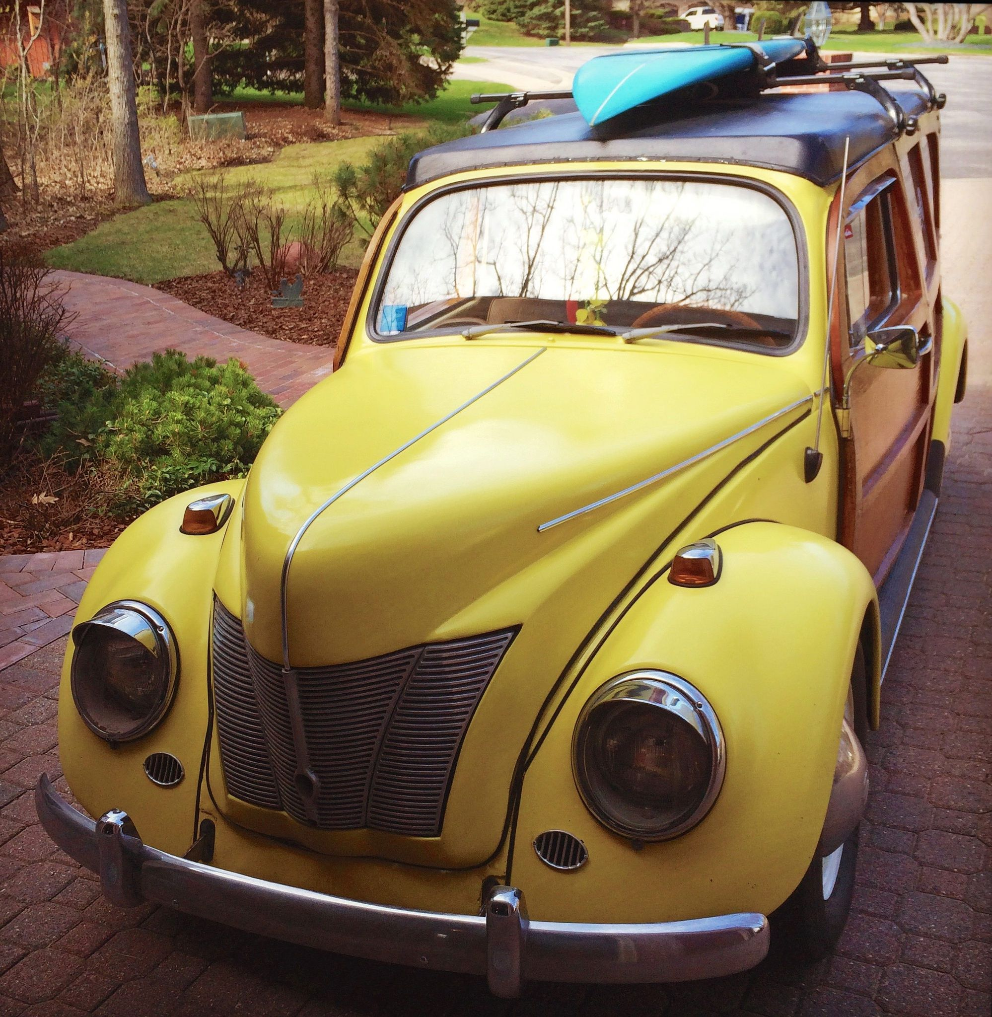 1965 vw beetle woodie for sale vw beetles beetles and vw. Black Bedroom Furniture Sets. Home Design Ideas