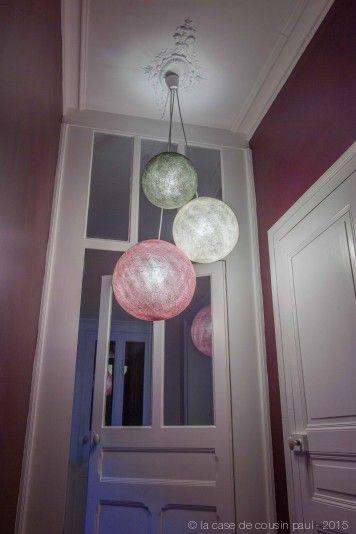 luminaires globes | la case de cousin paul