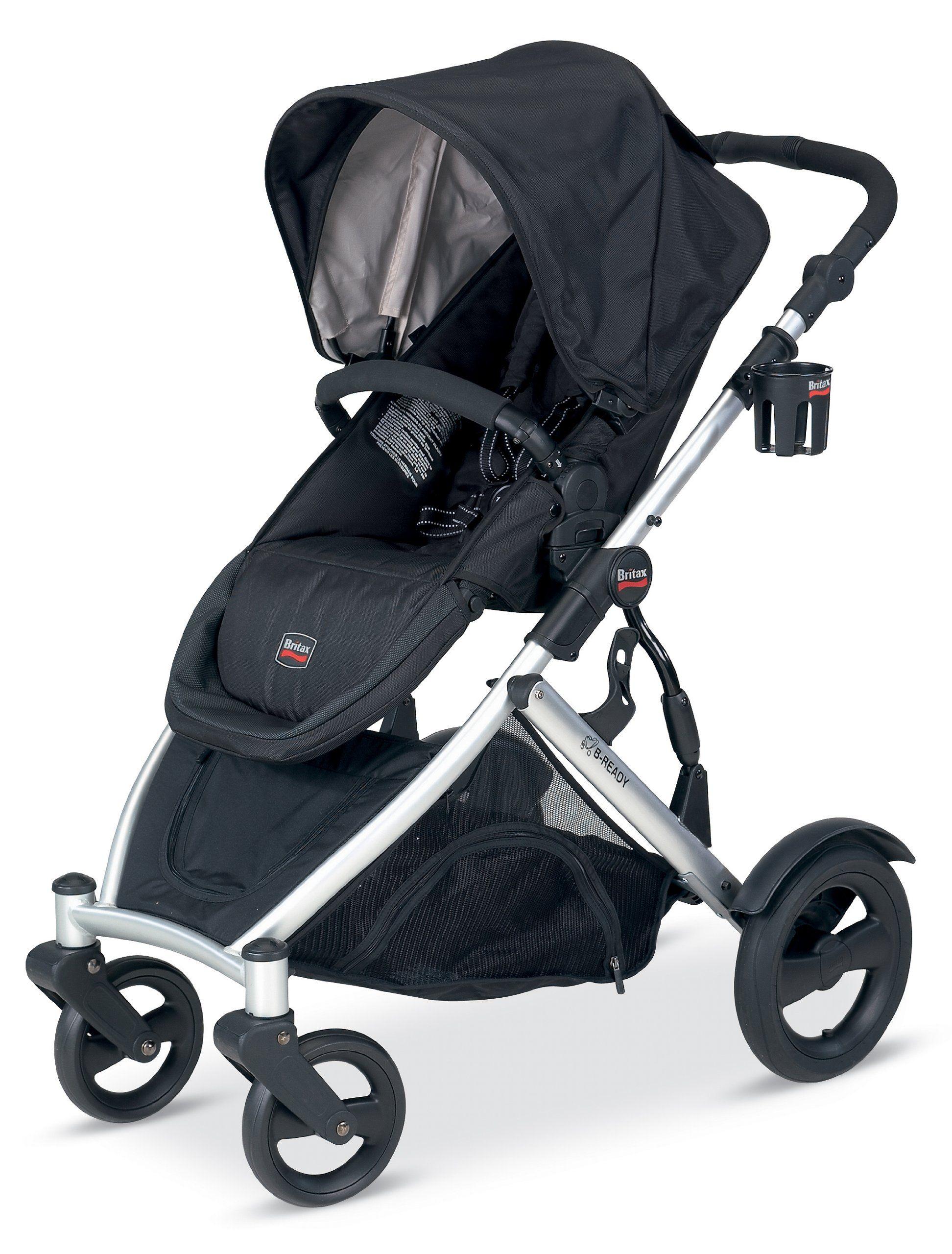 Amazon Com Britax B Ready Stroller Black Infant Car Seat Stroller Travel Systems Baby With Images Britax B Ready Best Baby Strollers Britax B Ready Stroller
