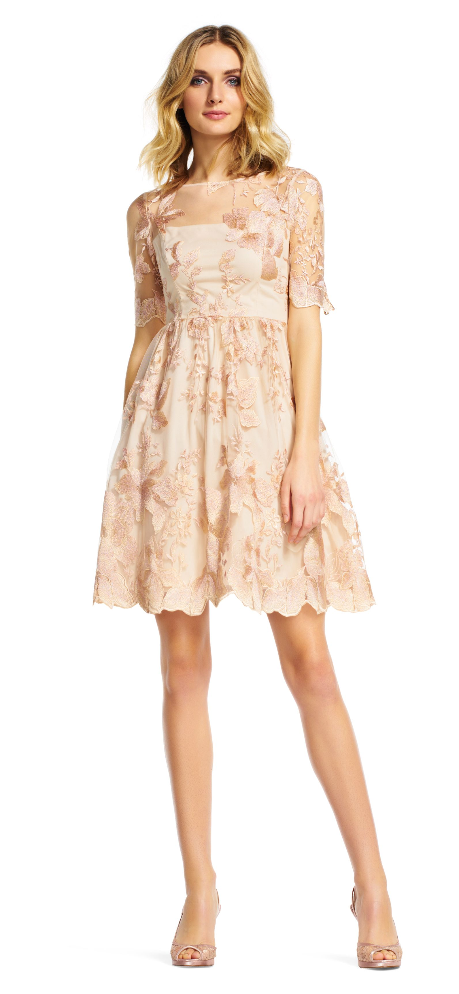 eabce7ad9c6 Sweeten your style with this short party dress. Featuring a fit and flare  silhouette