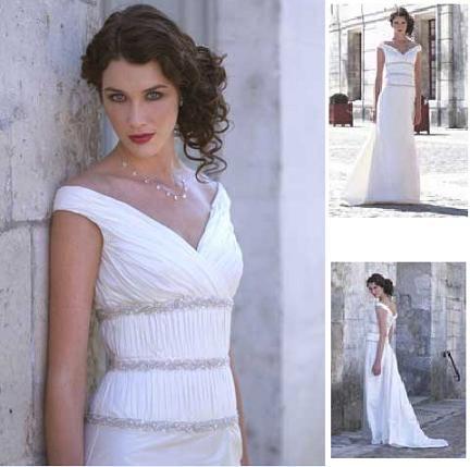goddess wedding dresses