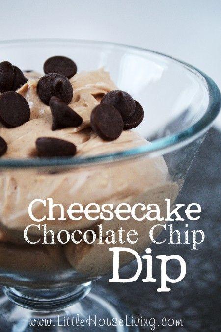 Chocolate Chip Dip Recipe #chocolatechipdip