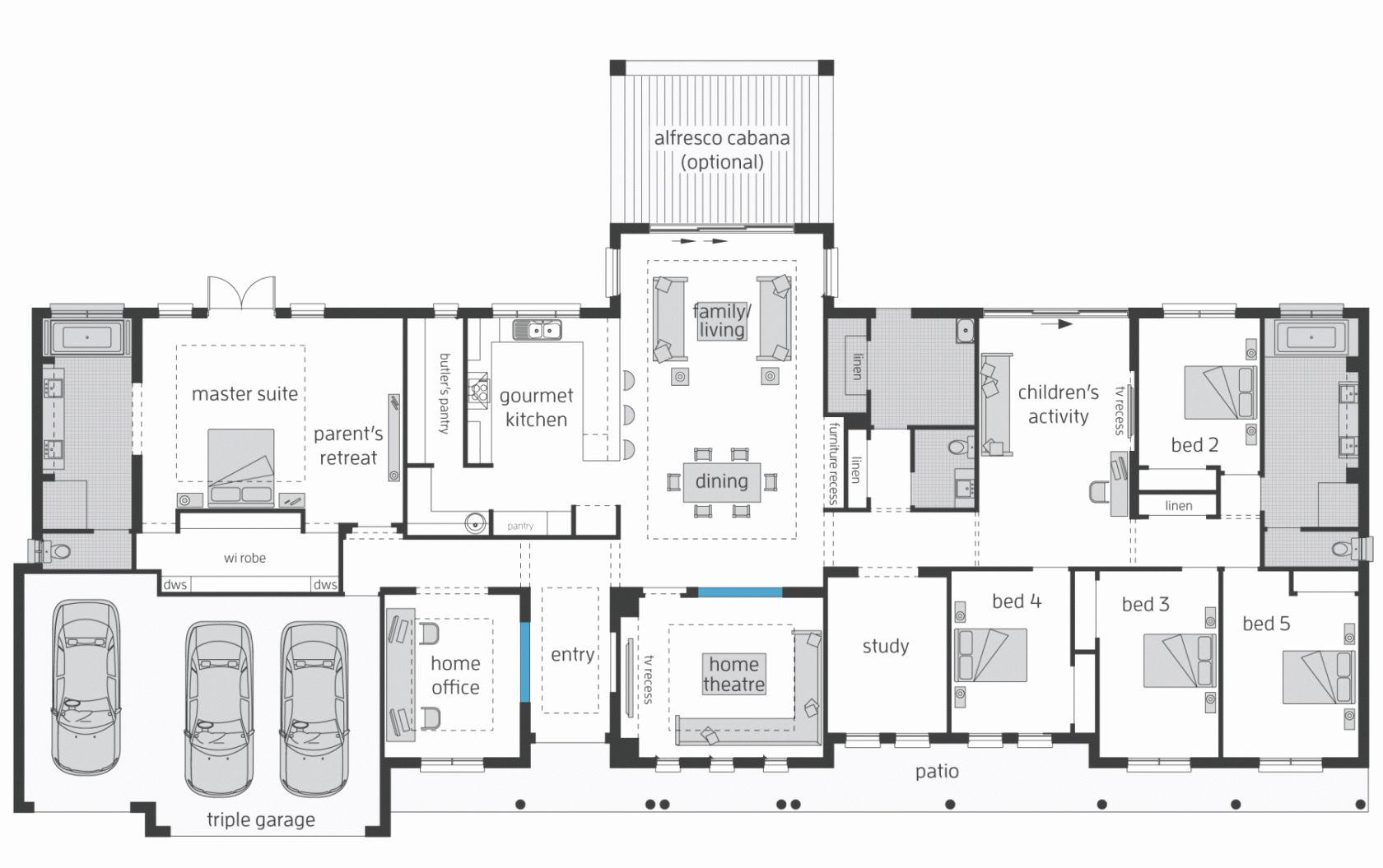 Australia Best Of House Plan U Shaped House Plans Australia