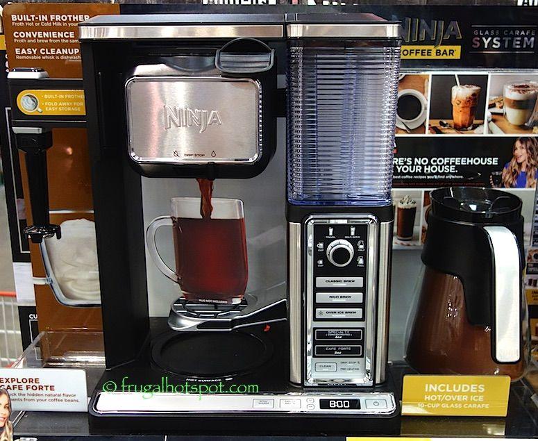 Costco Sale Ninja Coffee Bar Glass Carafe System 129.99