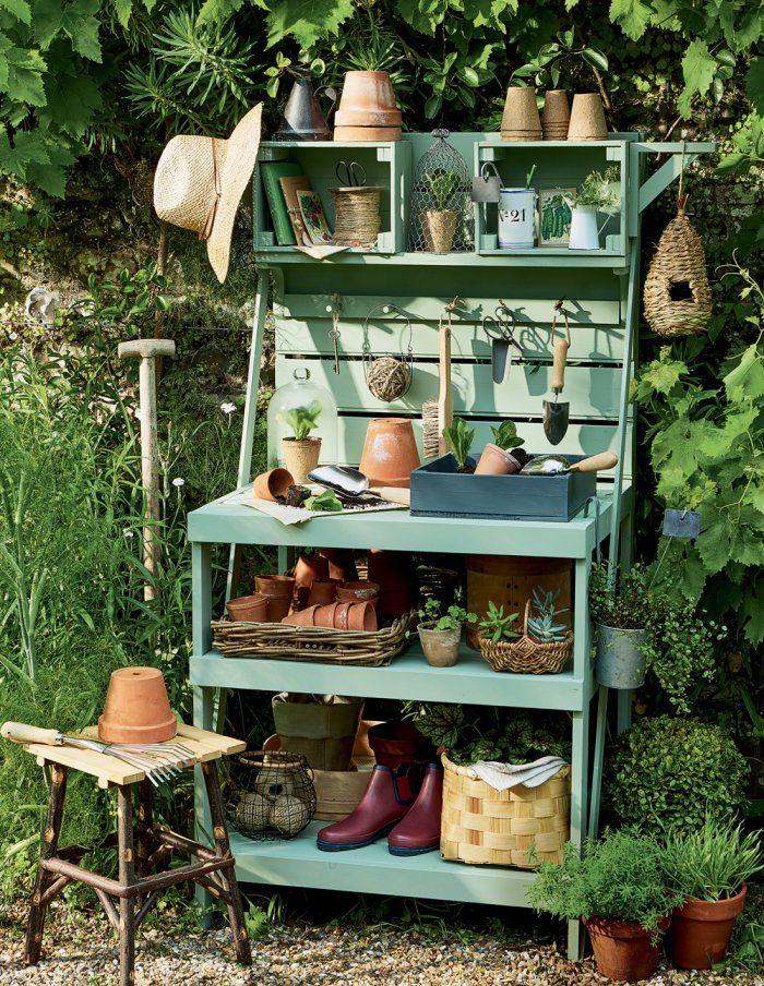Fabriquer soi-même un établi pour le jardin | Gardens and Havens ...