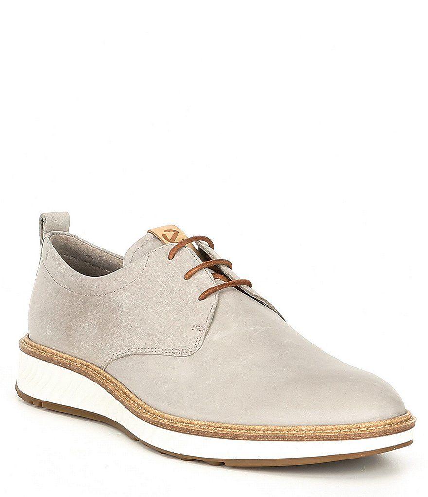 ECCO St1 Hybrid Plain Toe | Lace boots, Suede, Shoes mens
