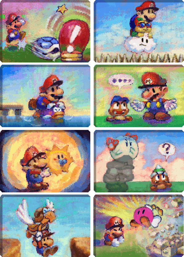 Paper Mario On The Nintendo 64 Has The Most Adorable Portraits For