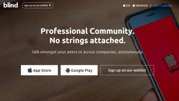 Blind mensajería móvil para comunicaciones anónimas empresariales