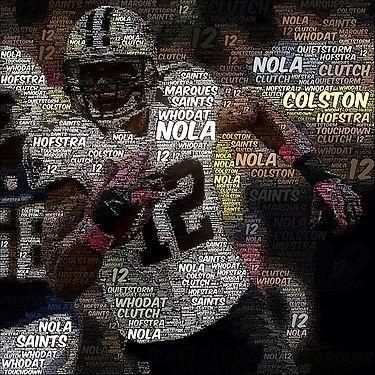 WR Marques Colston #Saints #NFL #NOLA #WhoDat