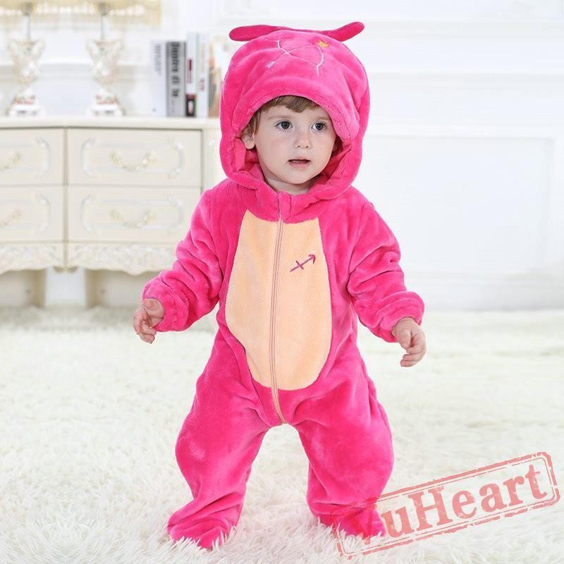5ab2de4ef Sagittarius Zodiac Sign Rose Kigurumi Onesies Pajamas Costumes for Baby