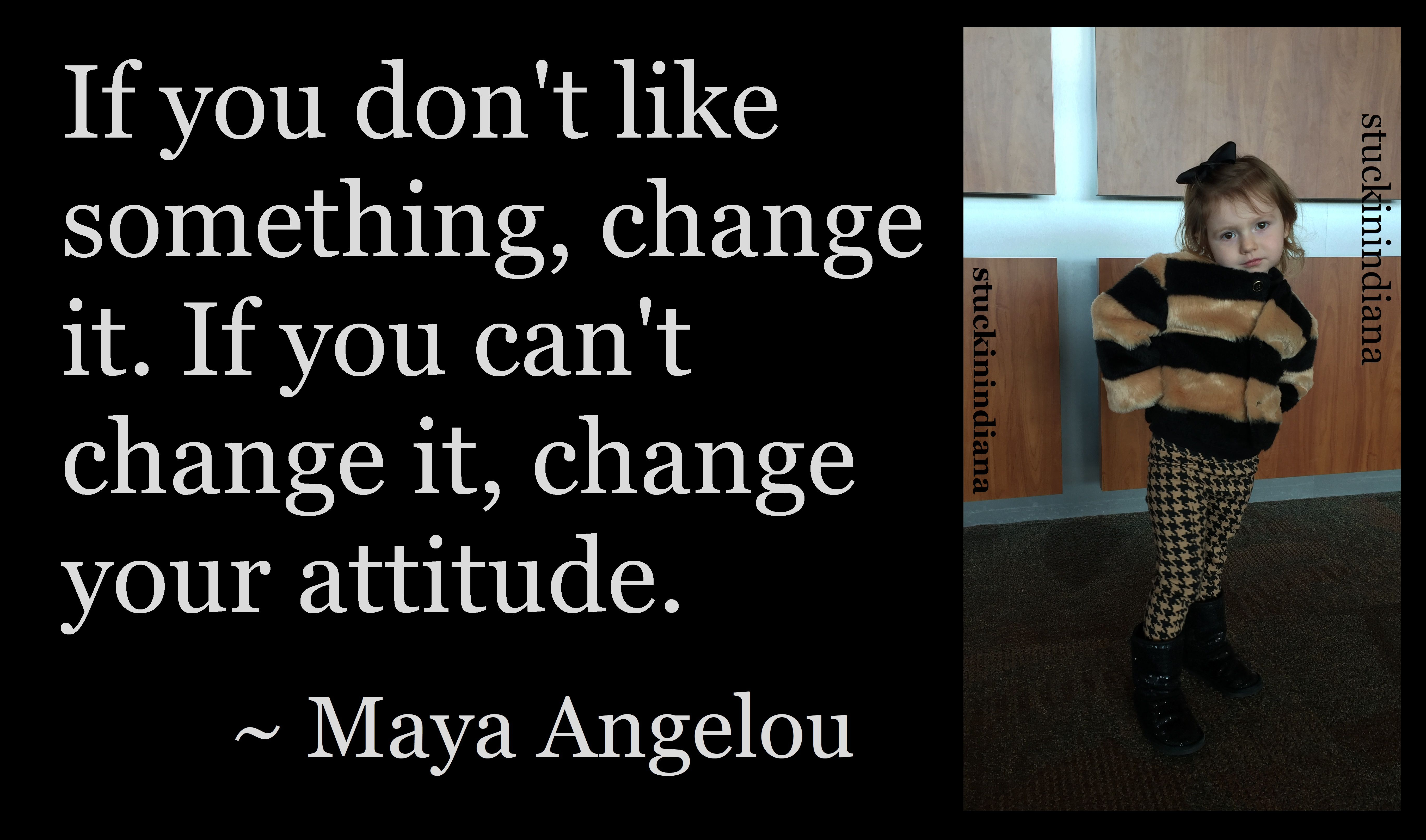 If You Don T Like Something Change It If You Can T