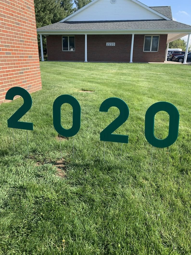how to make yard signs letters