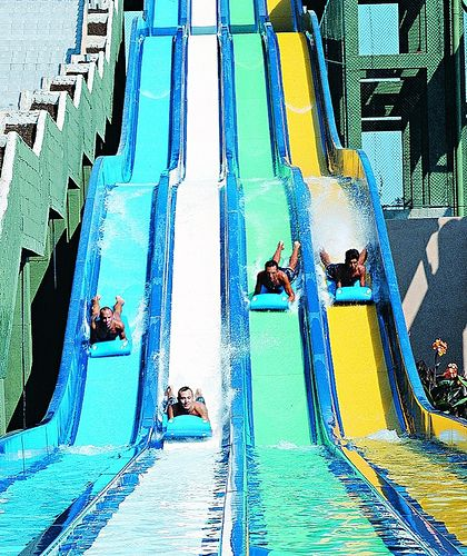 Cool Down During The Summer At Oceans Of Fun Water Park In